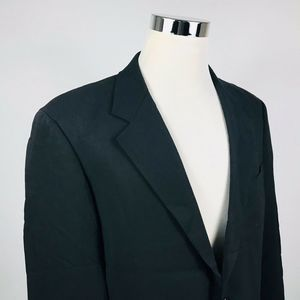 Hugo Boss Mens 42R Sport Coat Darwin Sigma Black